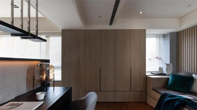 84平两房居现代风万博体育官网登录注册 打造简约而实用家装